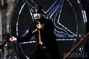King Diamond on tour with Jess and the Ancient Ones