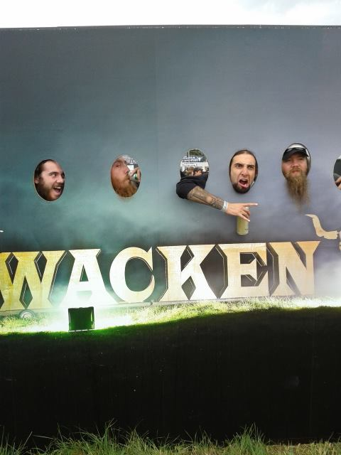 Crimson Shadows at Wacken 1