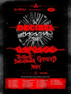 Decibel tour 2014