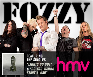 New Fozzy album available now at HMV