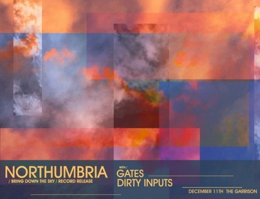 Northumbria 'Bring Down the Sky' to hold release show - Dec 11 @ the Garrison in Toronto