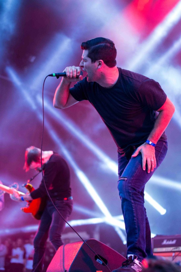 Alexisonfire at Heavy Montreal 2015. Photo by Tim Snow.