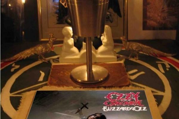 Ozzy altar