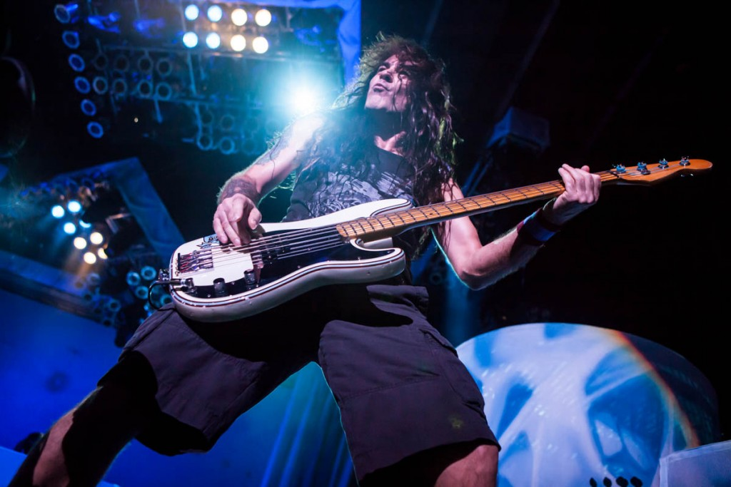 Post-reunion Iron Maiden live. Photo by Adam Wills.