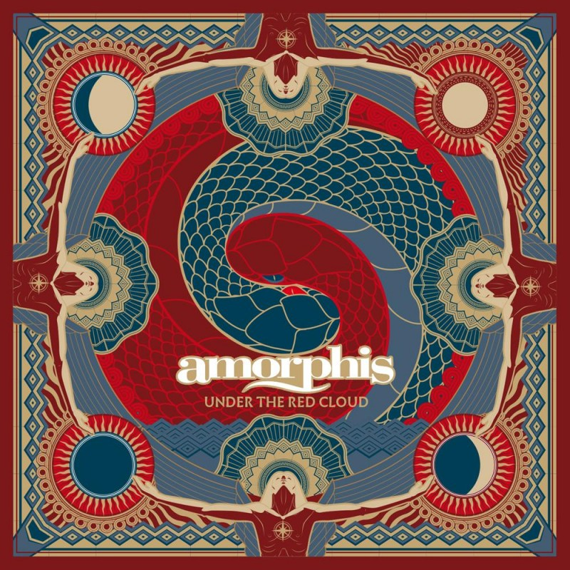 Amorphis - Under the Red Cloud cover