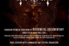 Blekkmetal Film – screening July 3 in Montreal