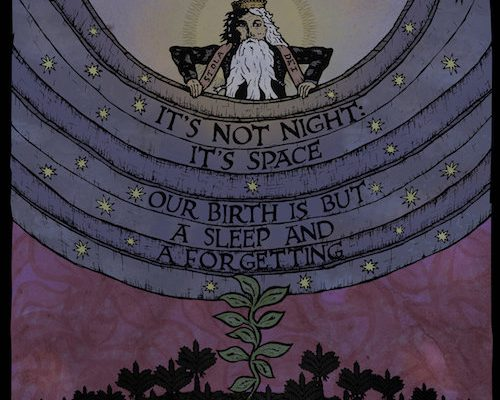 It's Not Night, It's Space – Our Birth is But a Sleep and a Forgetting