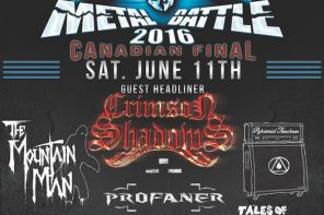 One Band to Rule Them All: Wacken Metal Battle Canada Finals 2016