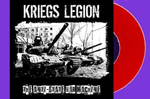 Kriegs Legion – The Anti-State War Machine EP