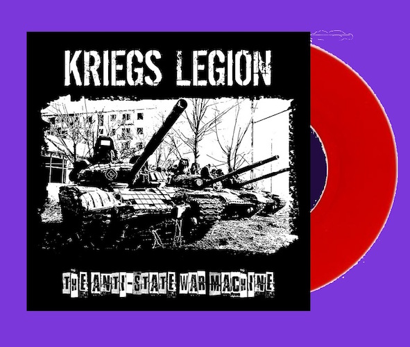 kriegs legion album cover