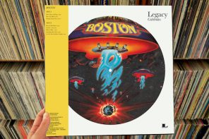 Boston – self-titled LP (40th anniversary reissue)