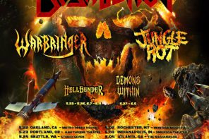 Destruction + Jungle Rot + Warbringer @ The Mod Club Theatre, Toronto, May 30, 2017
