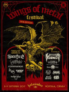 Summer festing in Canada, metal style