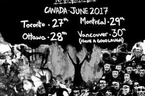 Extreme Noise Terror + Napalm Raid @ Coalition, Toronto, 27 June 2017