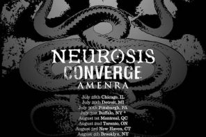 Neurosis / Converge / Amenra at the Danforth Music Hall, Toronto, 2 August 2017