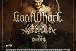 Venom Inc. + Goatwhore @ The Mod Club, Toronto, 5 September 2017