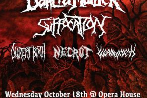 The Black Dahlia Murder in Toronto, 18 October 2017