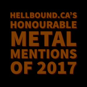 Honourable mentions of 2017