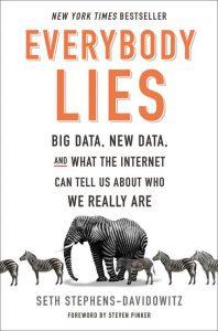 Book reviews by Steve Earles: Everybody Lies