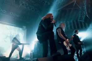 Dark Tranquillity in Saarbrücken, April 2018