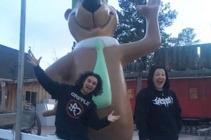 Touring campus while young, metal-loving and Native American