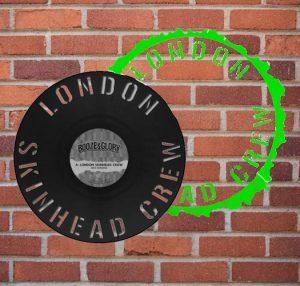 Booze & Glory – London Skinhead Crew (12″ die-cut single)