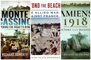 Book reviews by Steve Earles: History and war